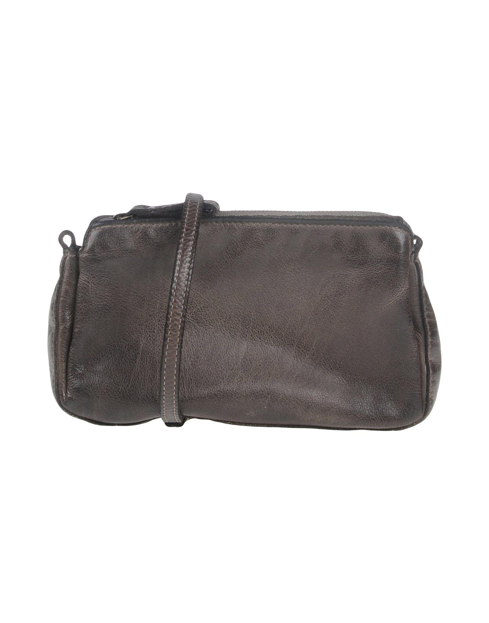 CORSIA Damen Handtaschen Farbe Dunkelbraun Größe 1