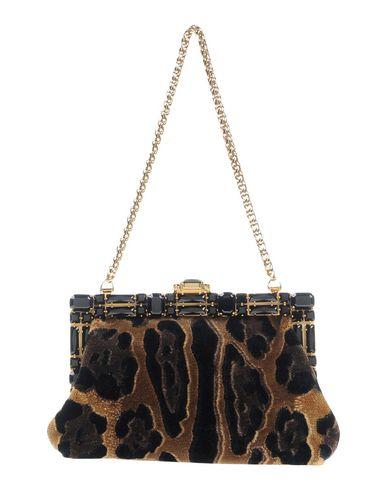 DOLCE & GABBANA レディース ハンドバッグ ブラック 紡績繊維