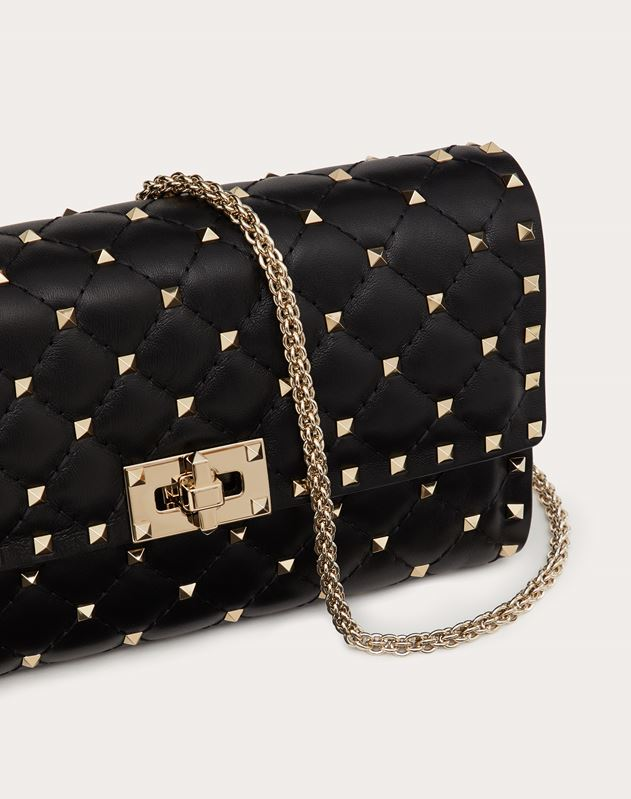 Rockstud Spike cross body clutch