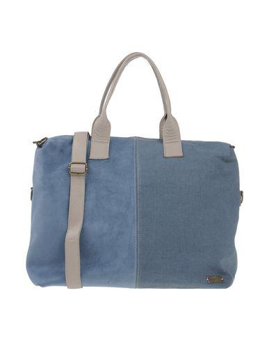 IDEA77 レディース ハンドバッグ ブルーグレー 革 / 紡績繊維