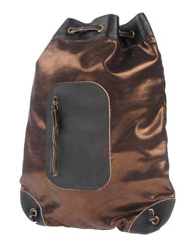 IDEA77 レディース バックパック&ヒップバッグ ブロンズ 紡績繊維 / 革