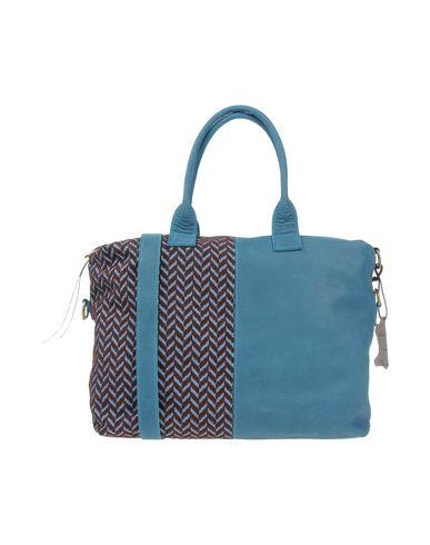 IDEA77 レディース ハンドバッグ ディープジェード 革 / 紡績繊維