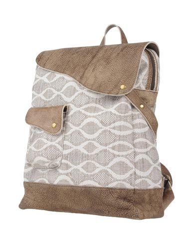 IDEA77 レディース バックパック&ヒップバッグ カーキ 紡績繊維 / 革