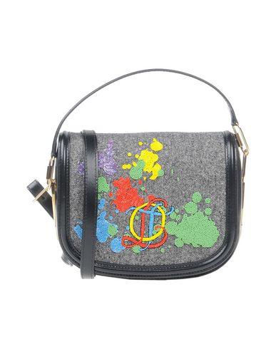 OLYMPIA LE-TAN レディース ハンドバッグ グレー 革 / 紡績繊維