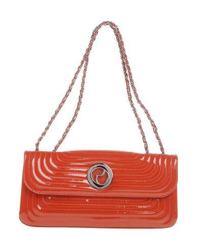 RODO レディース ハンドバッグ 赤茶色 革