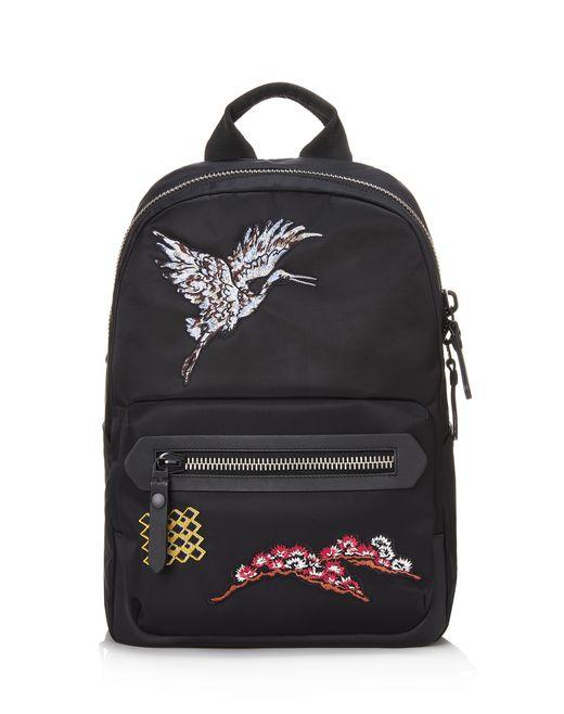 lanvin embroidered bird backpack men