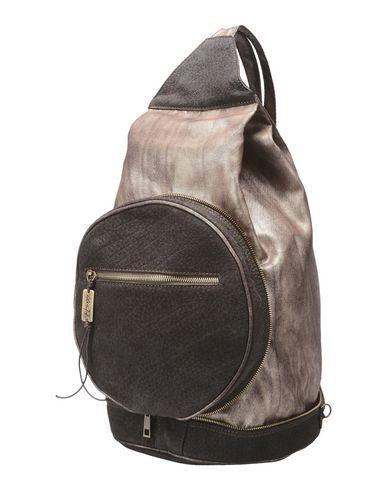 IDEA77 レディース バックパック&ヒップバッグ ダークブラウン 紡績繊維 / 革