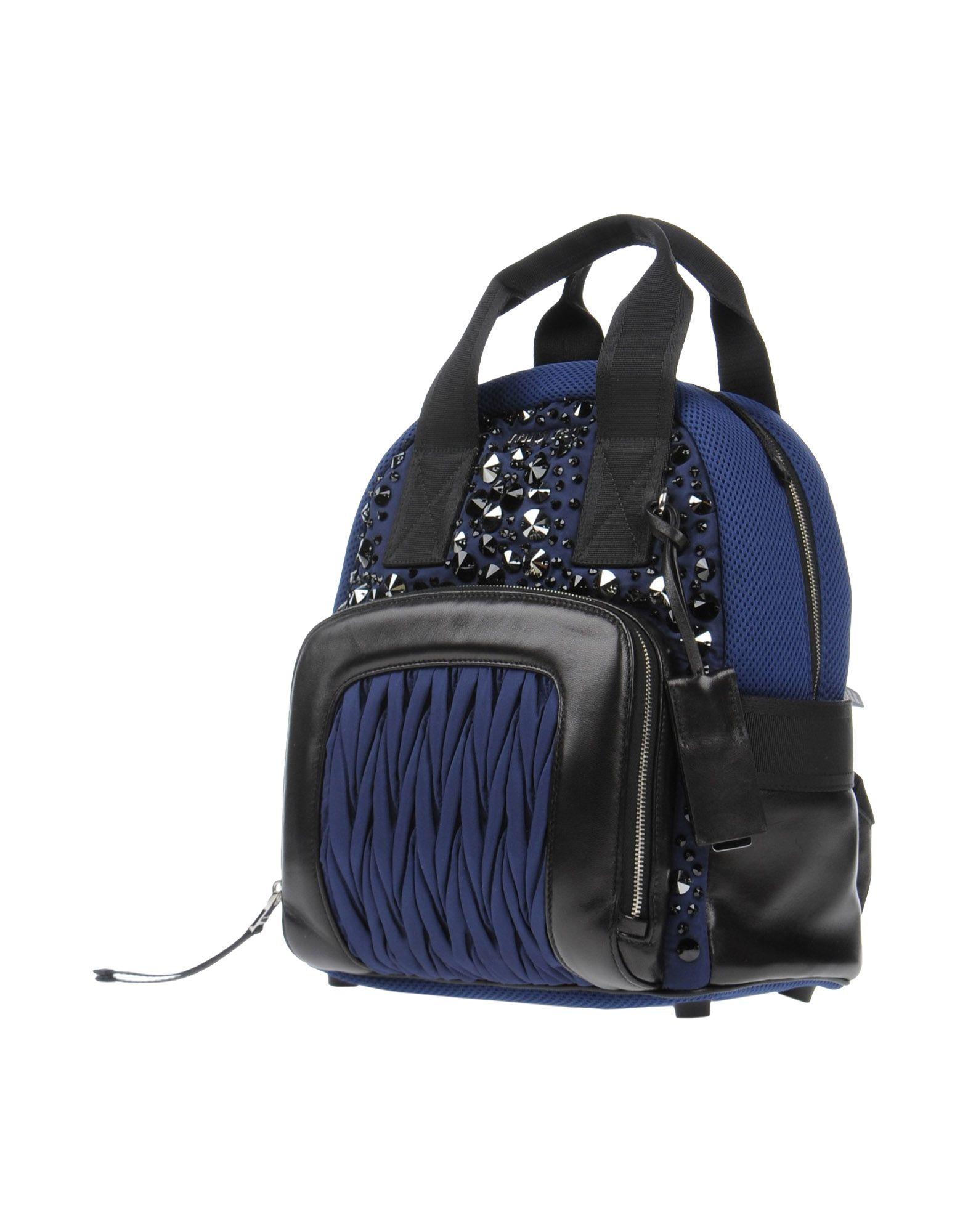 MIU MIU Рюкзаки и сумки на пояс цена и фото