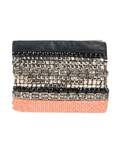 INTROPIA レディース ハンドバッグ ブラック 革 / 紡績繊維