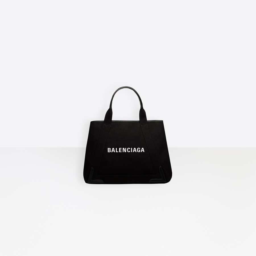 BALENCIAGA Navy Cabas M Denim Navy Handbag Woman f