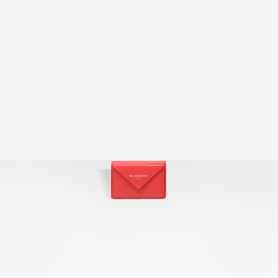 BALENCIAGA Papier Mini Wallet Mini Wallets D f