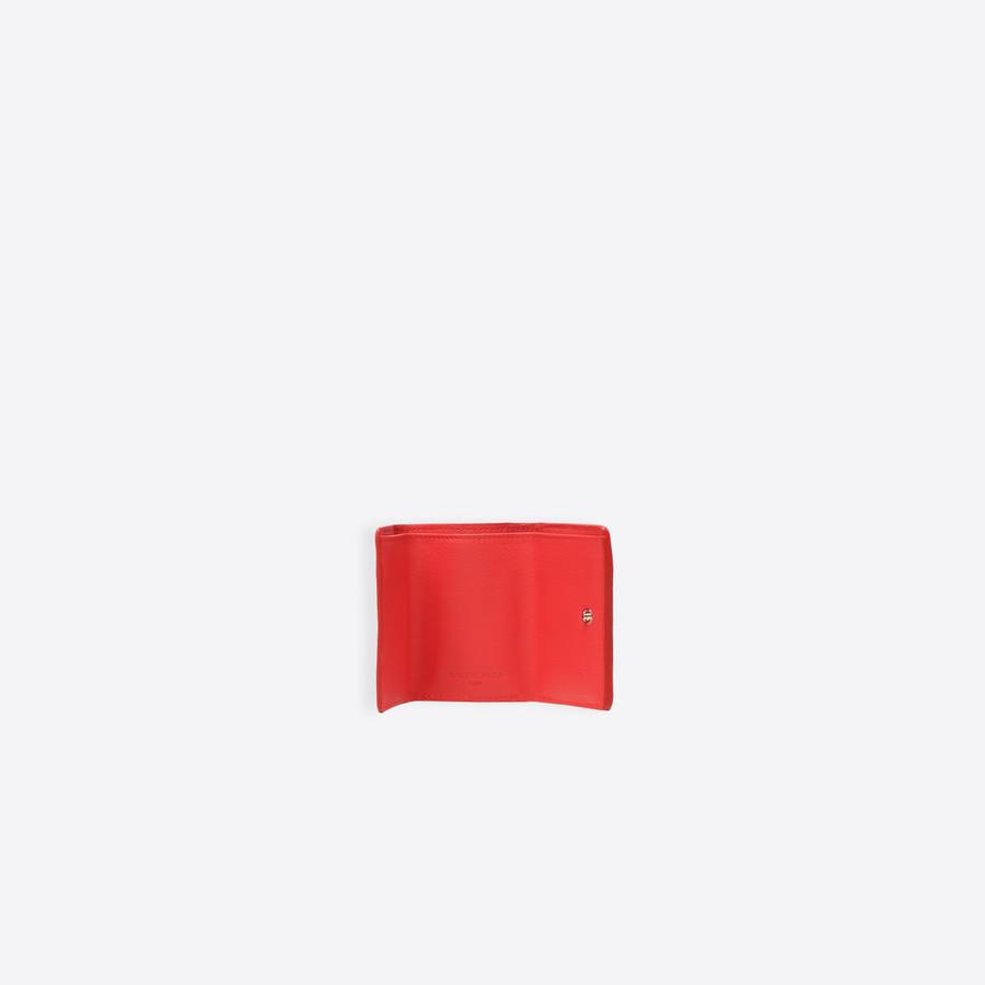 BALENCIAGA Papier Mini Wallet Papier wallet Woman e