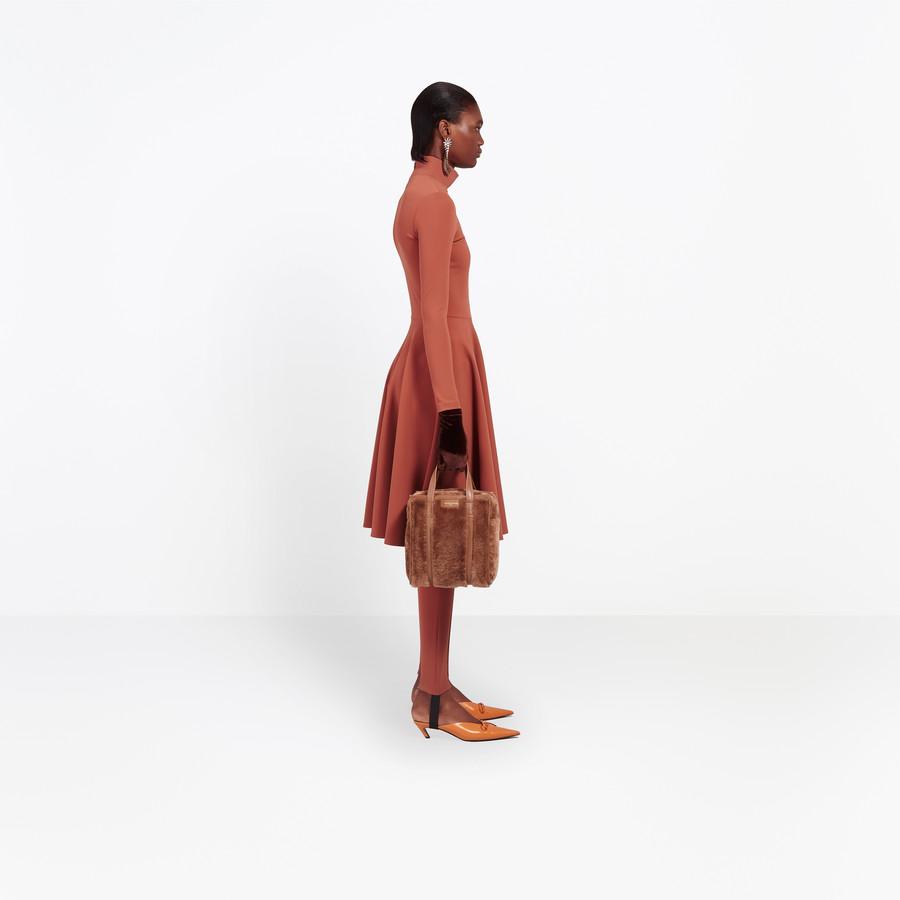 BALENCIAGA Bazar Shearling Shopper XS Bazar handbags Woman a