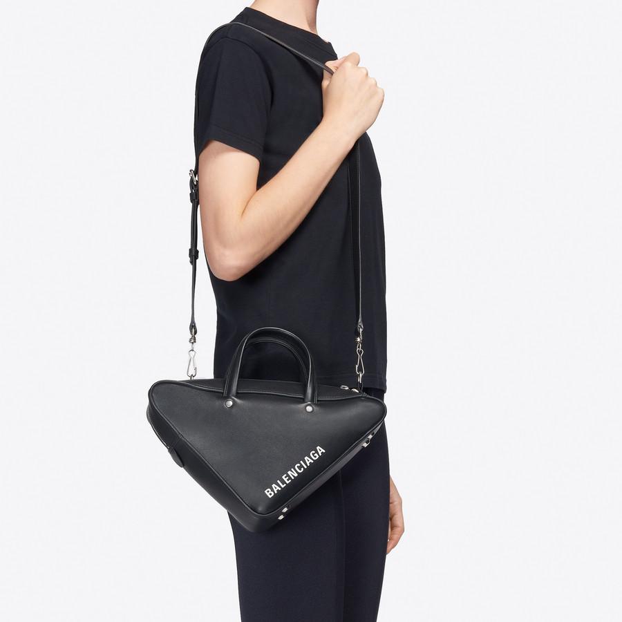 BALENCIAGA Triangle Duffle S Triangle Handbags Woman b