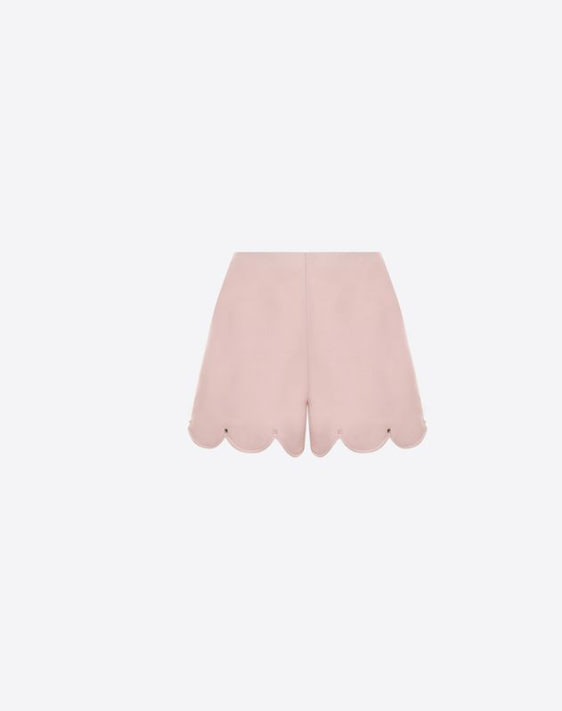 Crepe Couture scalloped shorts