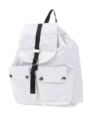 RICHMOND DENIM レディース バックパック&ヒップバッグ ホワイト 紡績繊維
