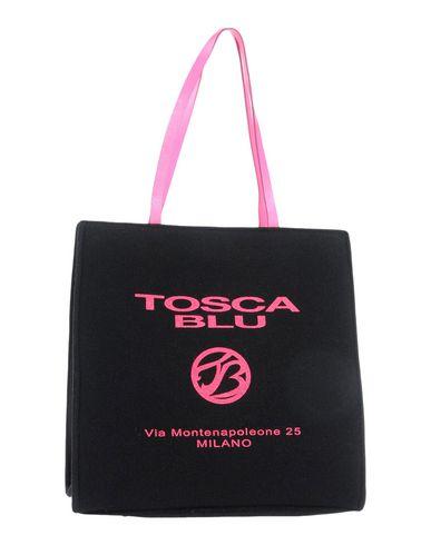 TOSCA BLU レディース ハンドバッグ ブラック ウール 70% / 革 30%