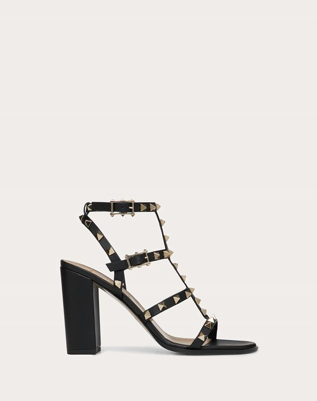 Rockstud caged Sandal 90mm