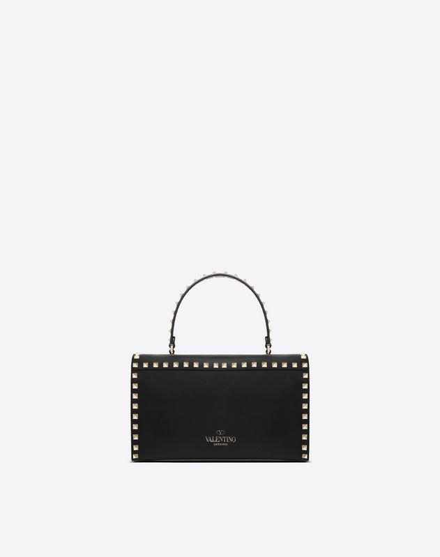 Rockstud Top Handle Bag