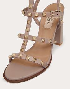 Rockstud Ankle Strap Sandal 90 mm