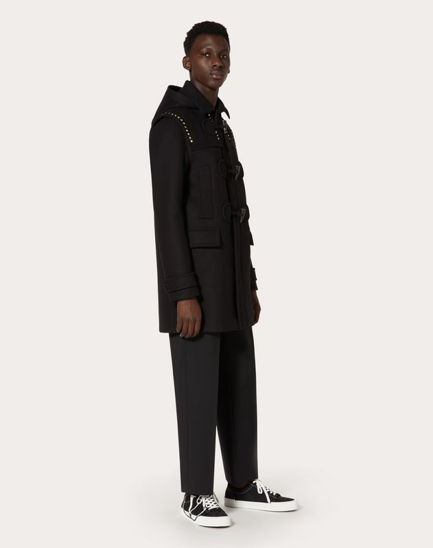Duffle-coat Rockstud Untitled