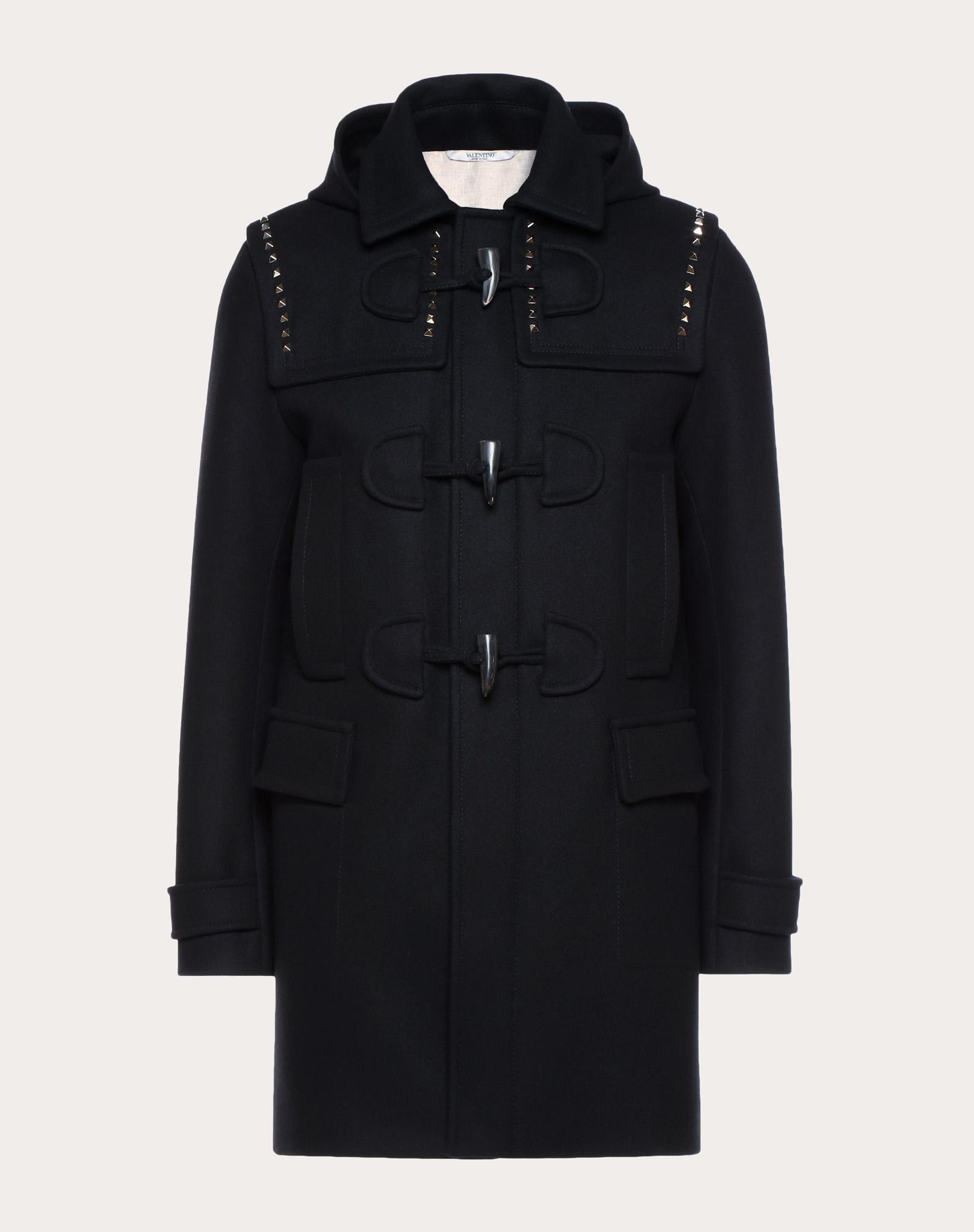 Rockstud Untitled duffle coat
