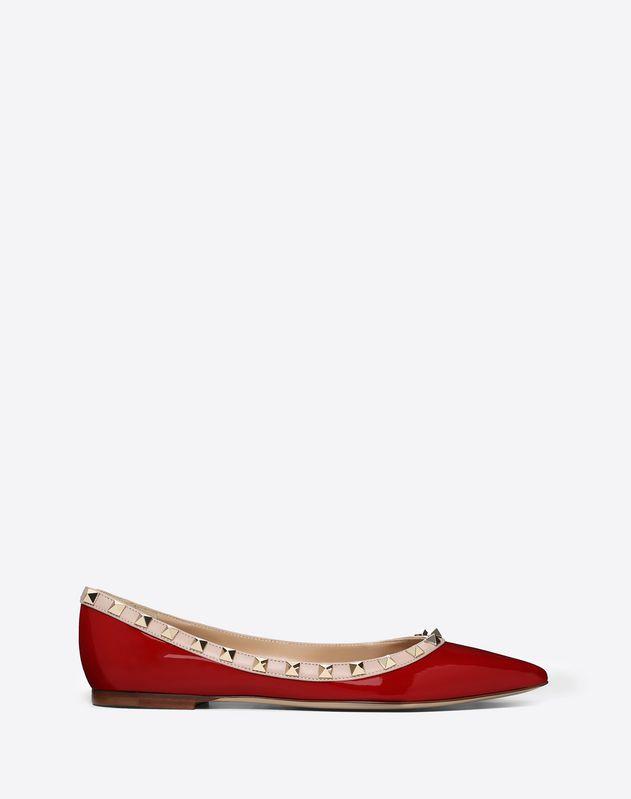 92ce9209d03 Patent Rockstud Ballet Flat ...