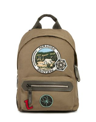 """PARADISE"" ZIPPERED BACKPACK"