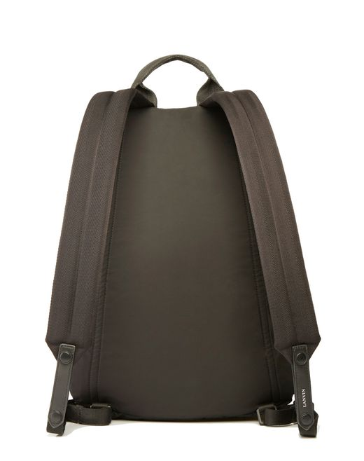 "lanvin ""paradise"" zippered backpack men"