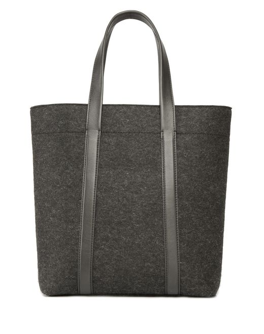 lanvin wool felt tote bag men