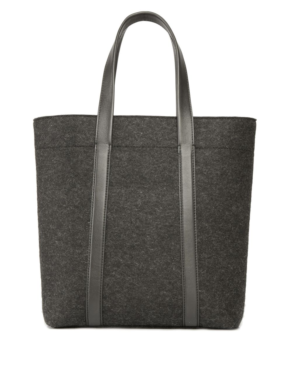 WOOL FELT TOTE BAG - Lanvin