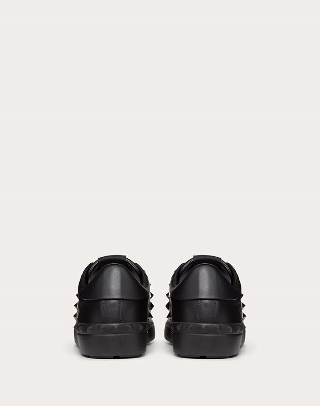 SNEAKER ROCKSTUD UNTITLED NOIR IN VITELLO