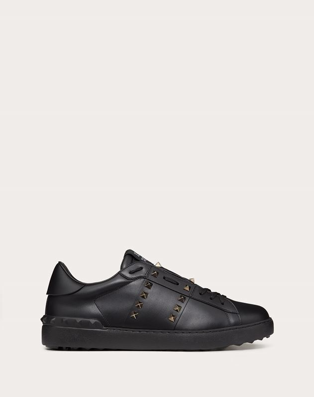 Rockstud Untitled Noir Trainer