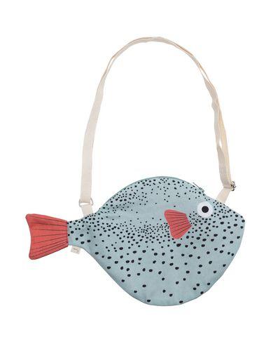 DON FISHER レディース メッセンジャーバッグ ライトグリーン コットン 100%