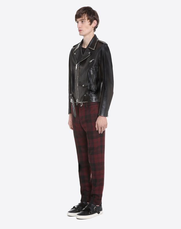 Rockstud Untitled biker jacket