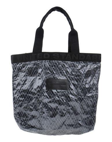 UNITED STANDARD レディース ハンドバッグ スチールグレー 紡績繊維