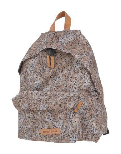 EASTPAK レディース バックパック&ヒップバッグ ベージュ 紡績繊維 / 柔らかめの牛革