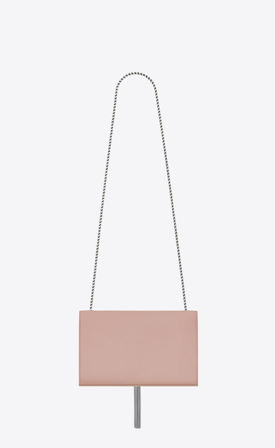 SAINT LAURENT MONOGRAM KATE WITH TASSEL D satchel medium à pompon kate en cuir blush pâle b_V4