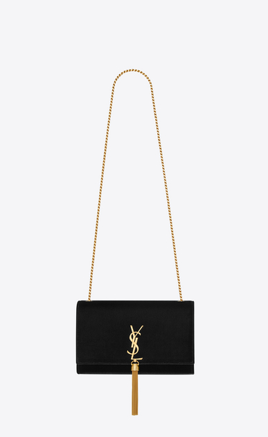 SAINT LAURENT MONOGRAM KATE WITH TASSEL Woman kate medium with tassel in velvet a_V4