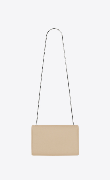 SAINT LAURENT MONOGRAM KATE Woman medium kate chain bag in powder textured leather b_V4