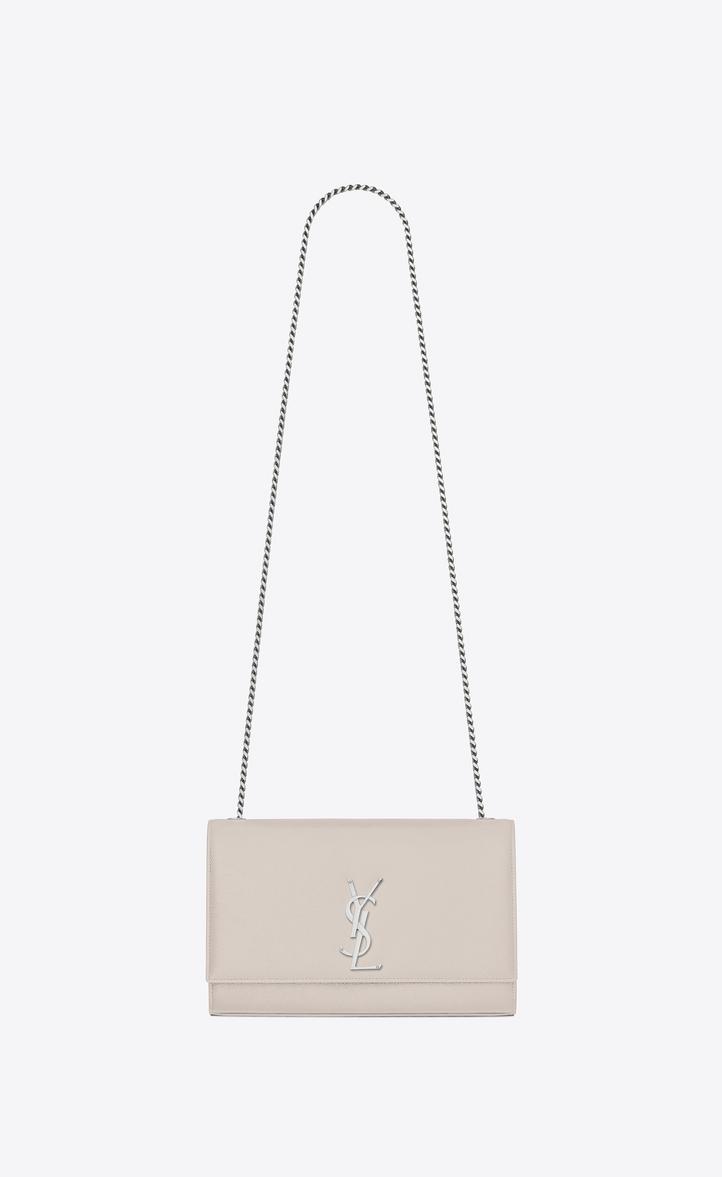 c56e715f6140 Saint Laurent Kate Medium In Grain De Poudre Embossed Leather ...