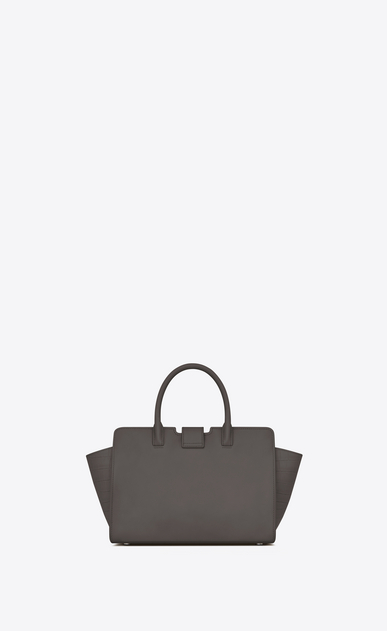 SAINT LAURENT MONOGRAMME TOTE Woman Baby DOWNTOWN Cabas YSL Bag in Grey Leather and Crocodile Embossed Leather b_V4