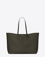 SAINT LAURENT Shopping Saint Laurent E/W D SHOPPING SAINT LAURENT Tote Bag in Army Green Leather f