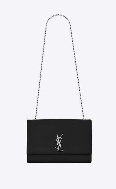 SAINT LAURENT MONOGRAM KATE D Classic Large KATE chain bag in Black Grain de Poudre Textured Leather v4