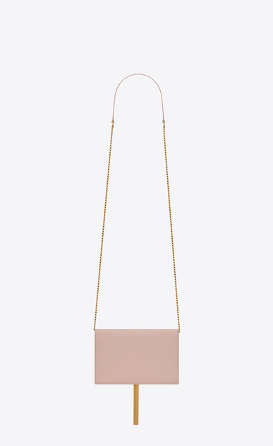 SAINT LAURENT MONOGRAM KATE WITH TASSEL D KATE Tassel Chain Wallet in Pale Blush Leather b_V4