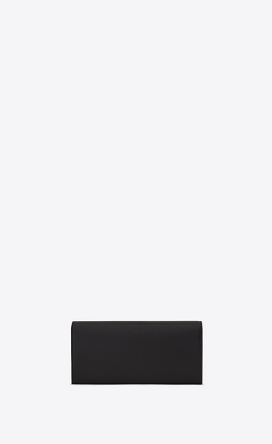 SAINT LAURENT MONOGRAM KATE CLUTCH D Small KATE Clutch in Black Leather b_V4