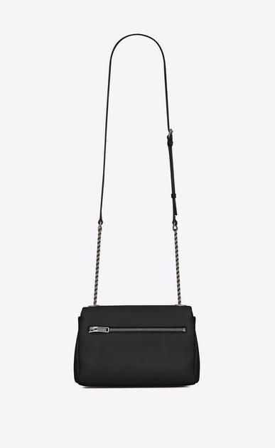 SAINT LAURENT West Hollywood D Small WEST HOLLYWOOD Bag in Black Grain de Poudre Textured Leather b_V4