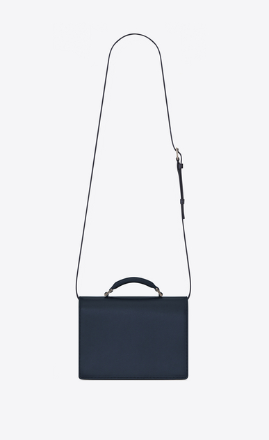 SAINT LAURENT Bellechasse D Medium BELLECHASSE SAINT LAURENT Bag in Navy Blue Leather b_V4