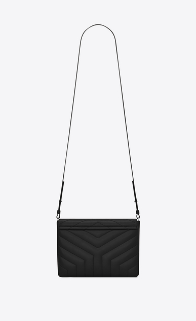 "SAINT LAURENT Mini bags Loulou Donna Custodia per tablet LOULOU nera in pelle matelassé a ""Y"" b_V4"