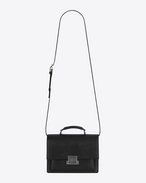 SAINT LAURENT Bellechasse D Sac medium BELLECHASSE SAINT LAURENT en cuir noir f
